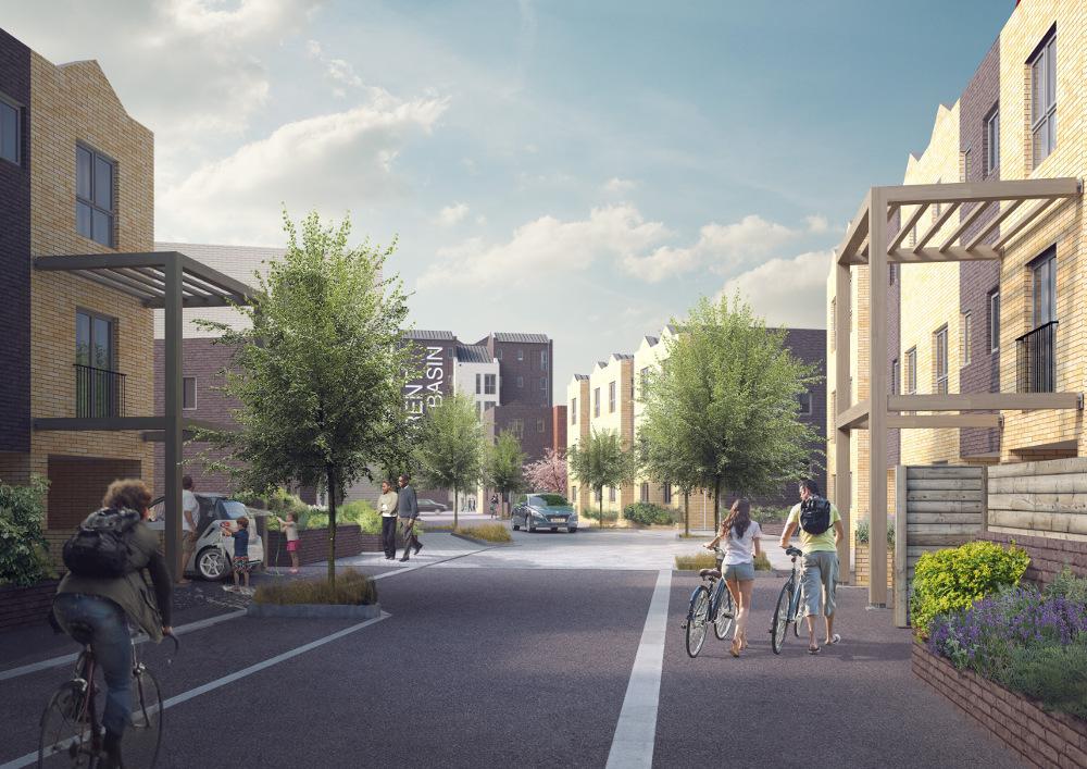 projectscene.uk image: How Trent Basin will look