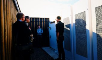 Tour of Trent Basin, visiting Europe's largest community energy battery